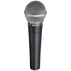 Micro fil SHURE SM58 (Discours ou Chant)