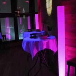 Projecteur à LED LiciaLed avec Tubes Diffusant 166cm