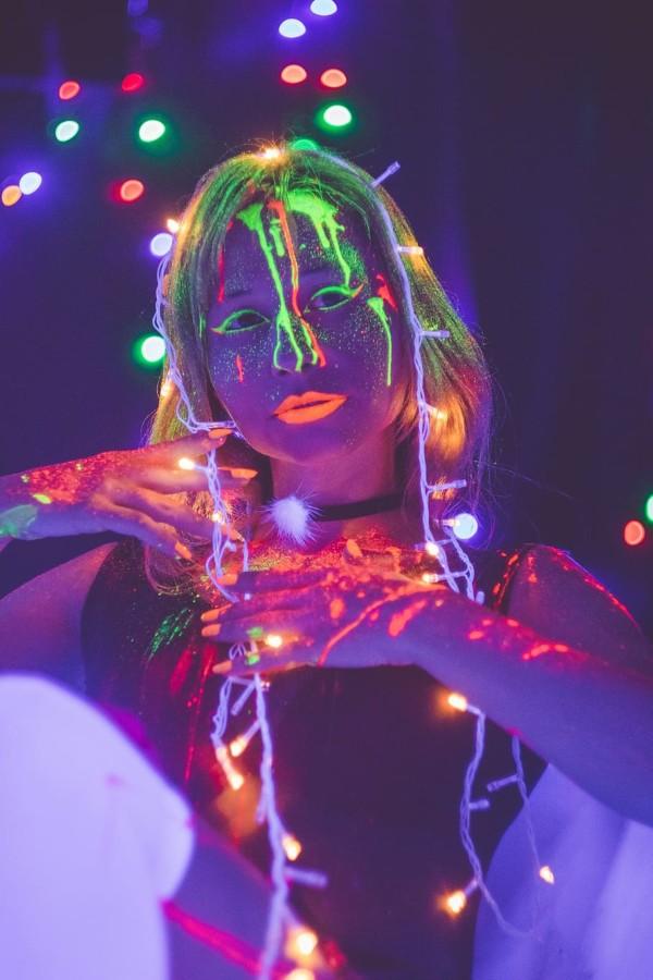 Black-gun 400W pour Glow-party et Maquillage UV