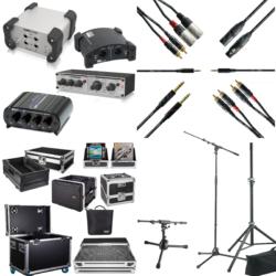 Accessoires de sonorisation